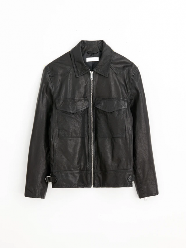 Field Tumbled Leather Jacket