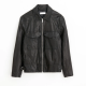Field Tumbled Leather Jacket