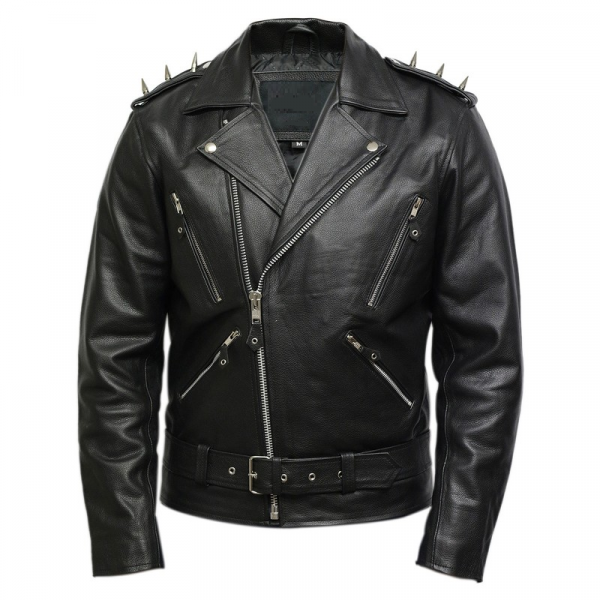 Ghost Riders Leather Jacket