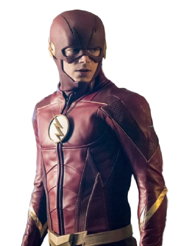 Grant Gustin The Flash Leather Jacket