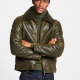 Hearling Aviators Olive Jacket