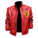 Johnny Lawrence Red Cobra Kai Bomber Jacket