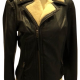Joies Black Ailey And Shearling Jacket