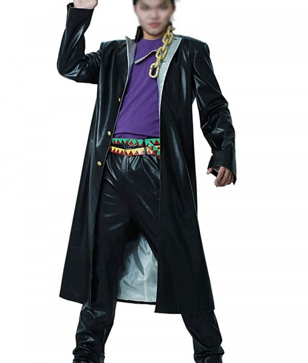 Jotaro Kujo Leather Coat