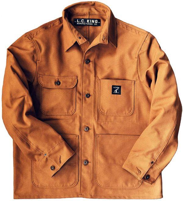 Men's Brown Duck Chore Jacket