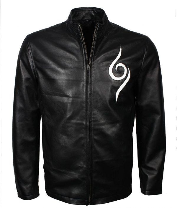 Naruto Black Leather Jacket