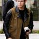 Nick Jonas Suede Leather Jacket