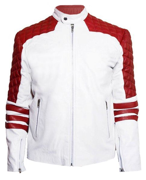 Red And White Jacket