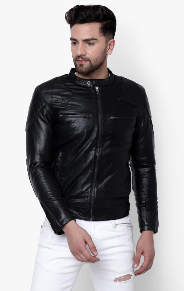 Superdry City Hero Racer Leather Jacket
