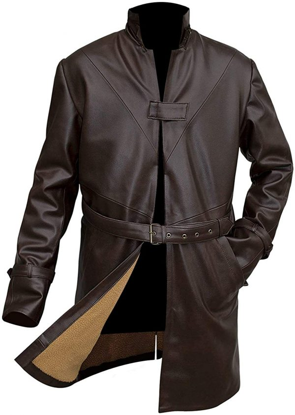 Watch Dog Leather Coat