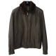 Zilli Nolot Marron Ostrich Leather Jacket