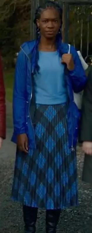 Aisha Fates The Winx Saga Blue Jacket