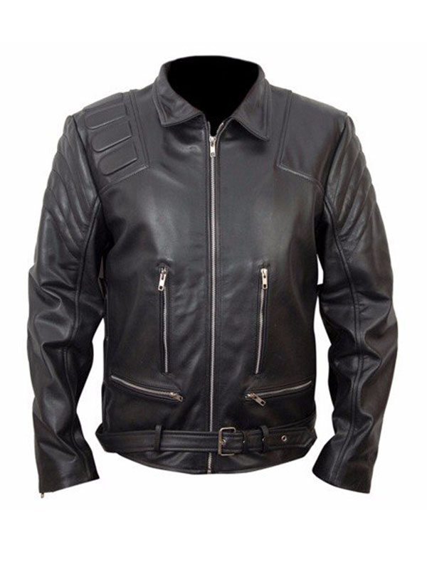 Arnold Schwarzenegger Terminator 3 Leather Jacket