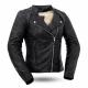 Black Widow Ladies Leather Jacket