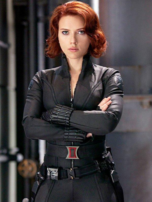 Black Widows Avengers Age Of Ultron Jacket
