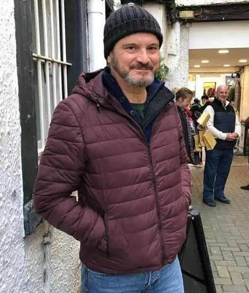 Colin Firth Supernova Puffer Jacket