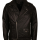 Elvis Presley Brando Biker Leather Jacket