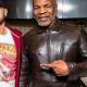 Eminem Juice Wrld Mike Tyson Brown Leather Jacket