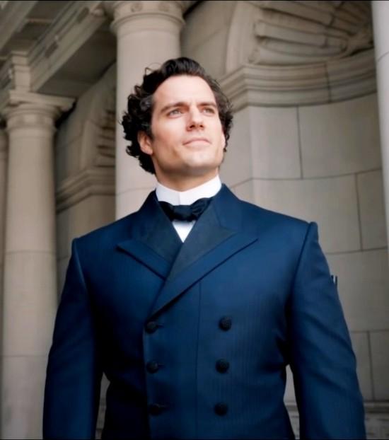 Enolas Holmes Henry Cavill Sherlock Coat