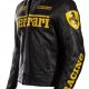 Ferrari Motorcycle Leather Jacket