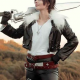 Final Fantasy 8 Squall Leonharts Fur Collar Jacket