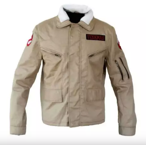 Ghostbusters Brown Cotton Jacket