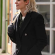 Happiest Seasons Kristen Stewart Wool Coat