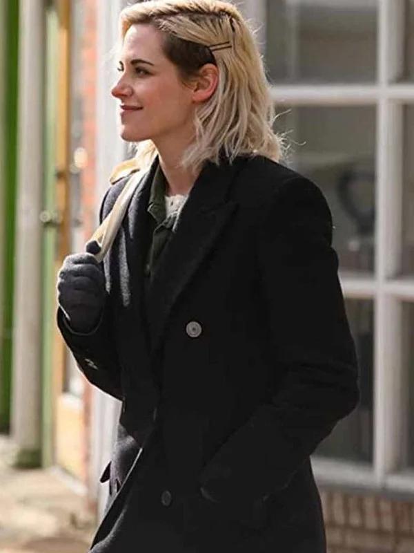 Happiest Seasons Kristen Stewart Wool Coat