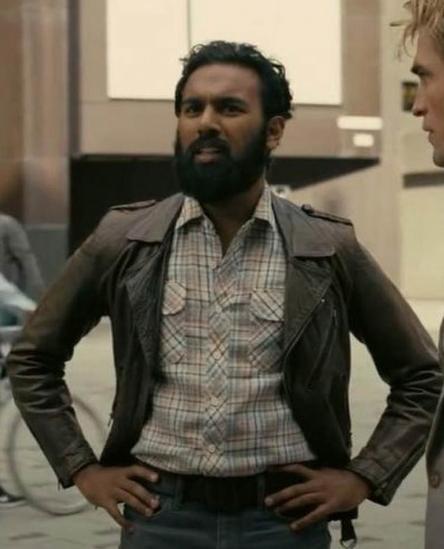 Himesh Patel Tenet Leather Jacket