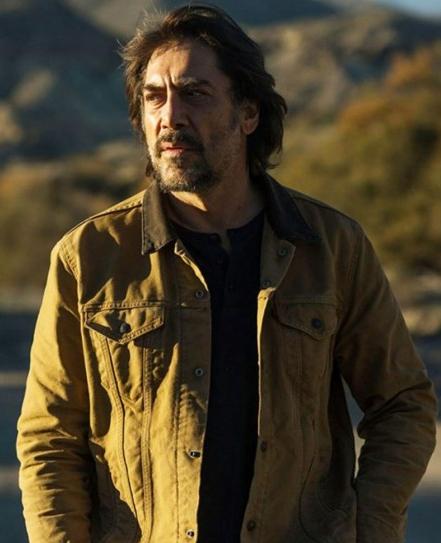Javier Bardem The Roads Not Taken Denim Jacket