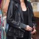 Jessica Chastain The 355 Motorcycle Leather Jacket