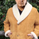 Let Him Go George Blackledge Shearling Coat