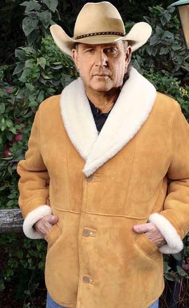 Let Him Go George Blackledge Shearling Coat