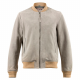 Light Grey Suede Elvis Jacket