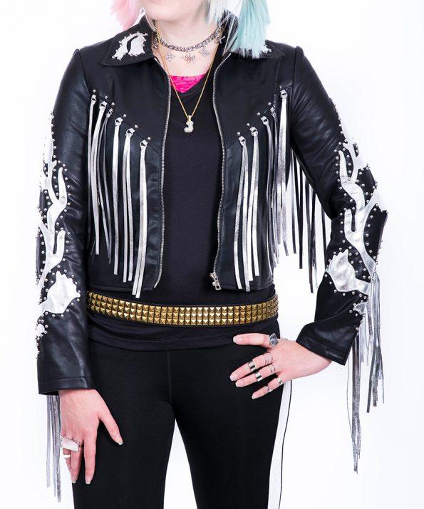 Margot Robbie Birds Of Prey Harley Quinn Leather Jacket
