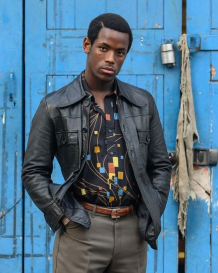 Micheal Ward Lovers Rock Leather Jacket