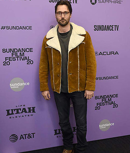 Never Rarely Sometimes Always Ryan Eggold Suede Leather Jacket