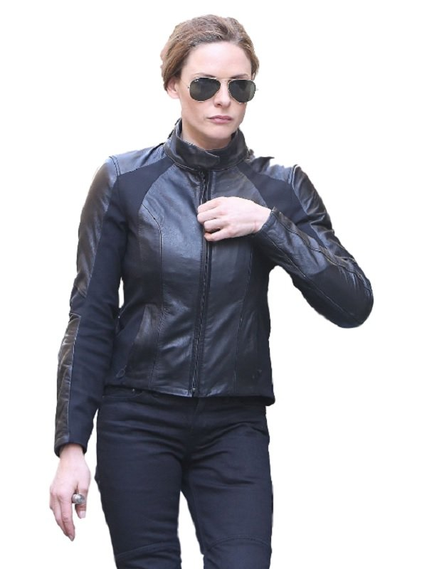Rebecca Fergusons Leather Jacket