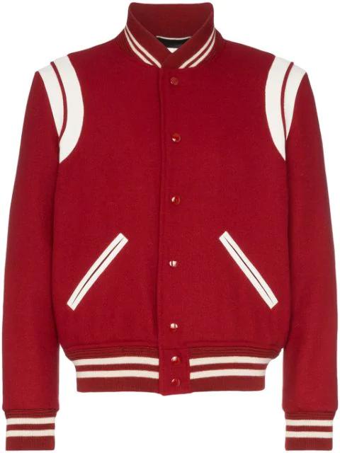 Slp Teddy Varsity Jacket