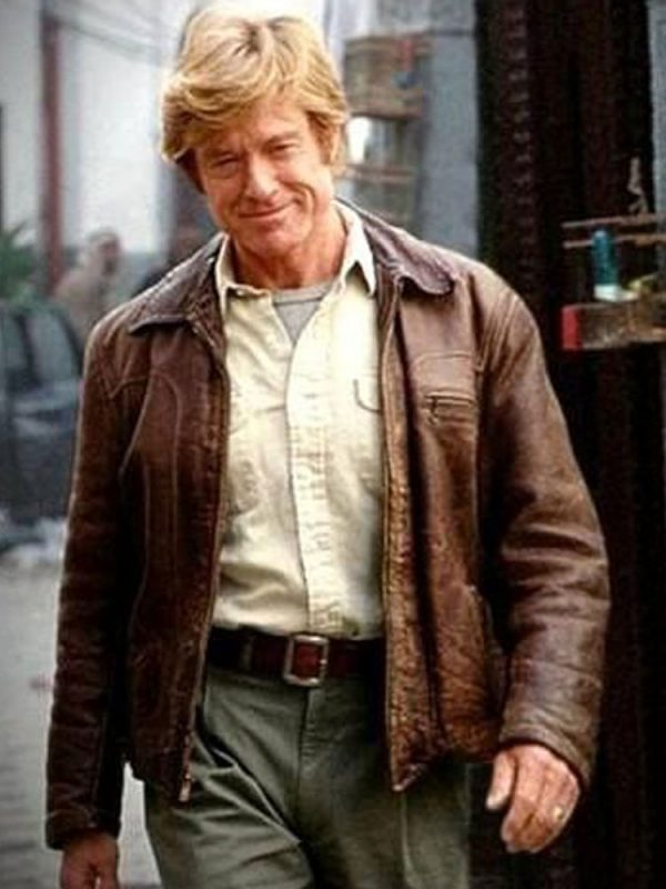 Spy Game Robert Redford Leather Jacket