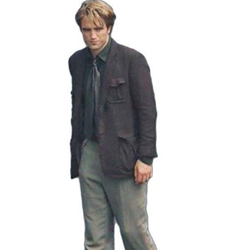 Tenet Robert Pattinson Black Coat