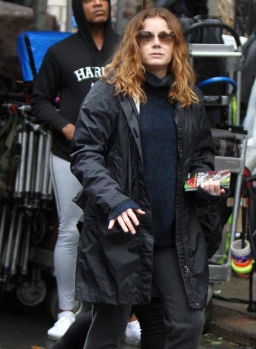 The Woman In The Windows Amy Adams Black Coat