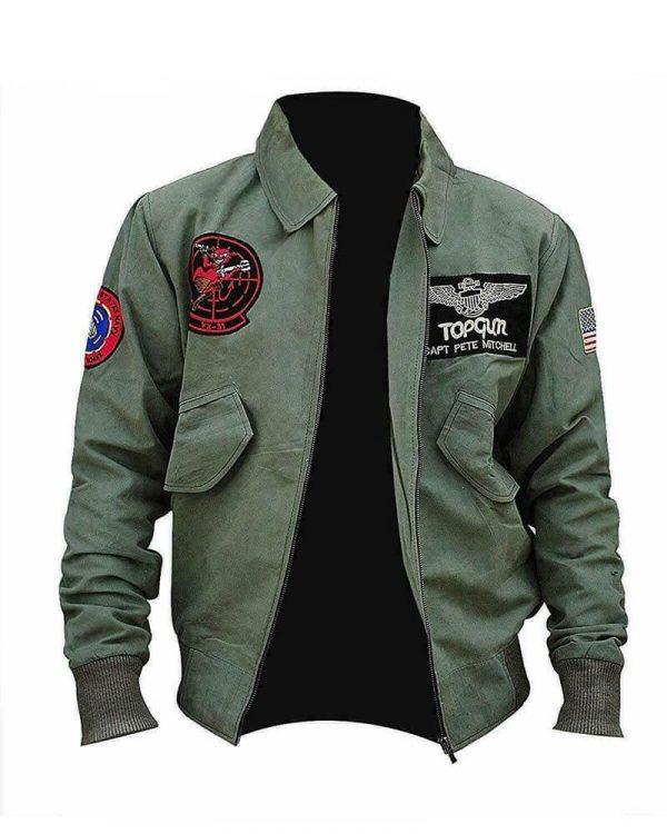 Top Gun Maverick 2 MA-1 Jacket