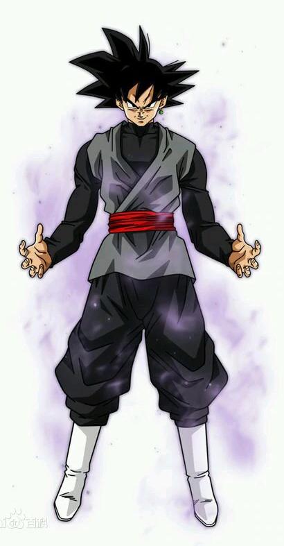 Anime Dragon Ball Super Goku Black Zamasus Merged Potara Fusion Jacket