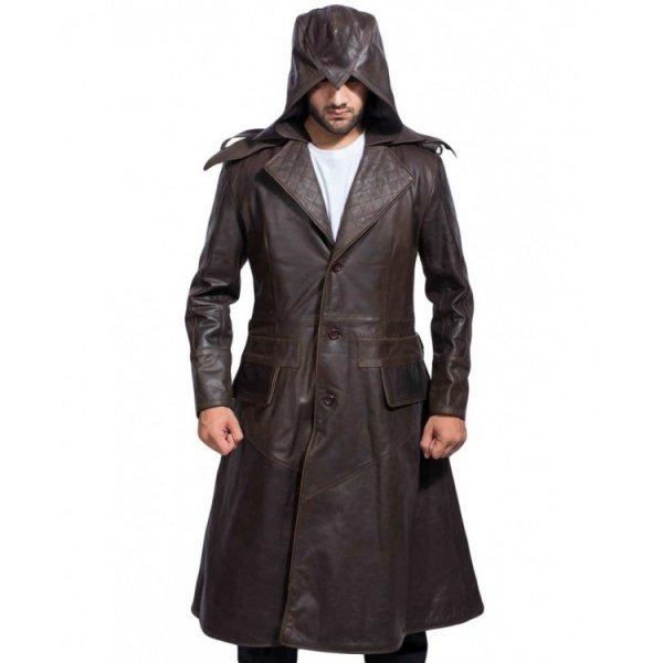 Assassins Syndicate Jacob Frye Leather Coat
