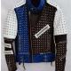 Cafe Racers Studded Leather Jacket