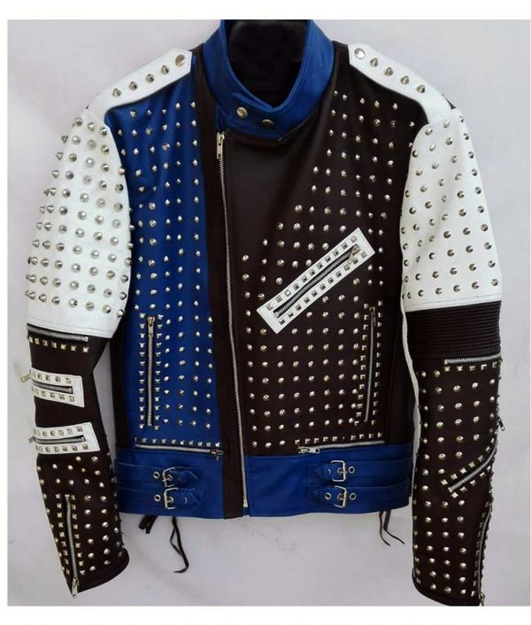 Cafe Racers Studded Leather Jacket