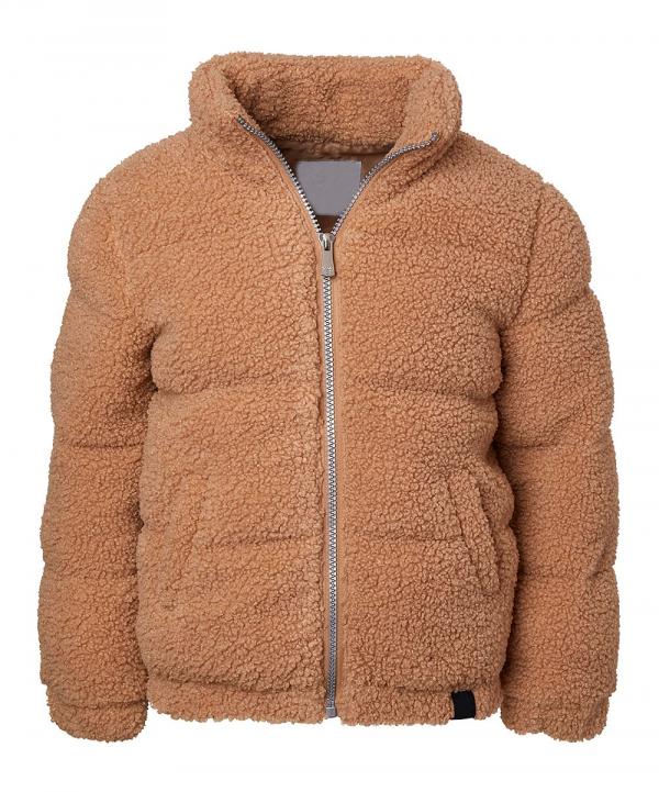 Camel Wubby Shearling Jacket