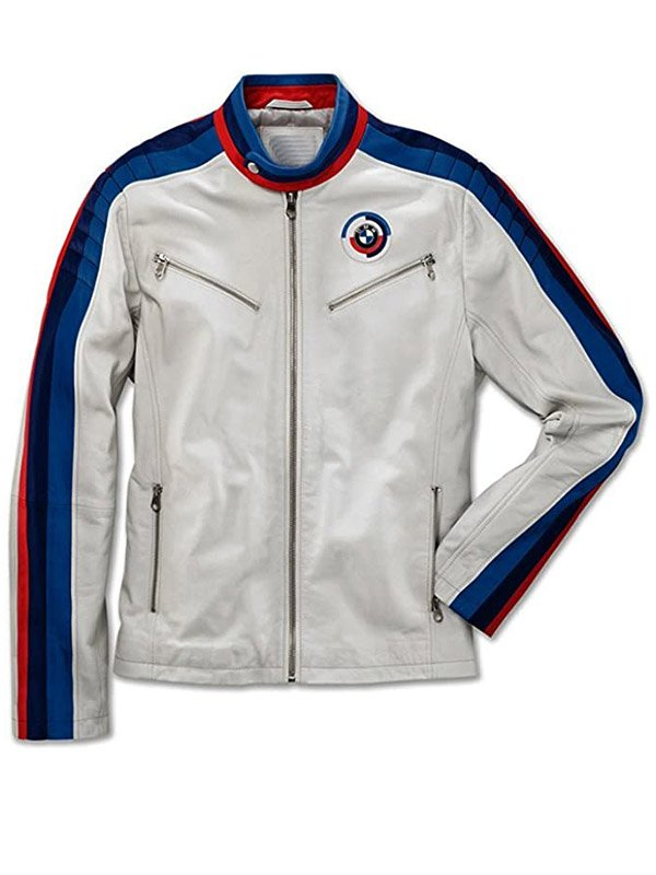 Classical Mens BMW Leather Jacket