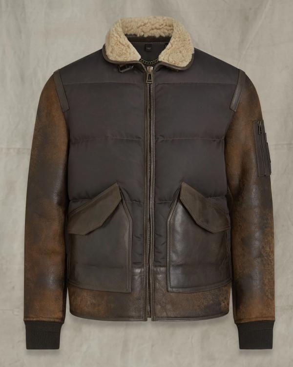 Cockpit Vintage Waxed Leather Jacket